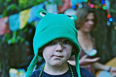 Photograph - Frog Hat by Eric Tressler