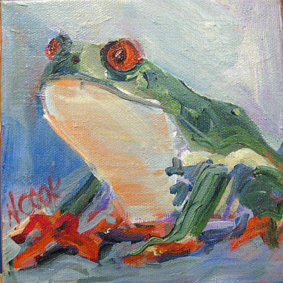 Painting - Frog by Nanci Cook