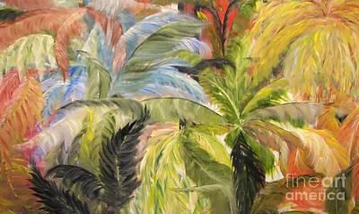 Frolicking Ferns Art Print by Rachel Carmichael