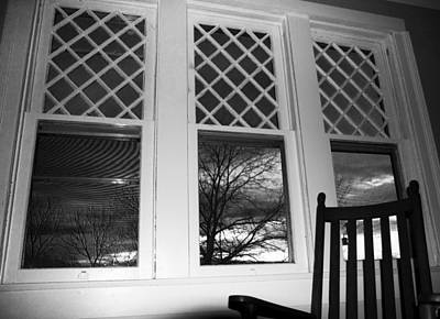 Rocking Chairs Photograph - From An 1870's House's Pov by Betsy Knapp