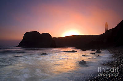 Beach Photograph - From Light To Light by Mike  Dawson