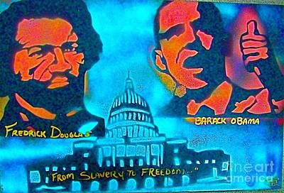 Conservative Painting - From Slavery To Freedom by Tony B Conscious