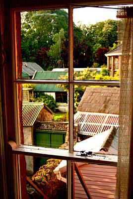 Photograph - From The Bedroom Window by Van Corey