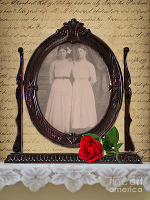 From The Past Print by Betty LaRue