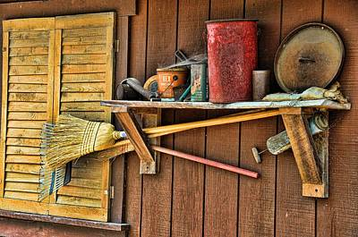 Photograph - From The Tool Shed by Jan Amiss Photography