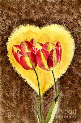 Painting - From Tulip With Love by Melly Terpening