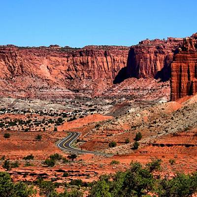 Rock Photograph - From Utah With Love by Luisa Azzolini