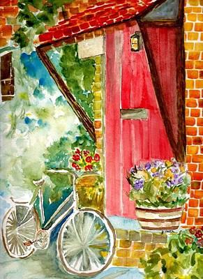 Front Door Art Print