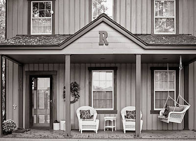 Front Porch Art Print by Michael Avory