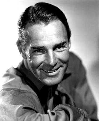 Falcondvd19 Photograph - Frontier Marshal, Randolph Scott, 1939 by Everett