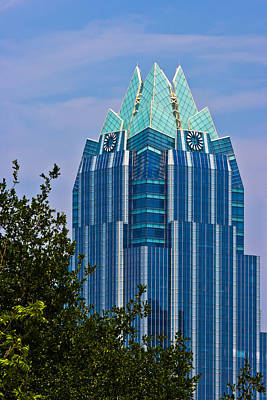 Photograph - Frost Bank Tower In Austin by Ed Gleichman