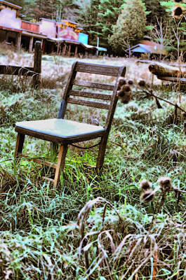 Photograph - Frosty Seat  by Emily Stauring