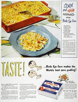 Frozen Food Ad, 1947 Art Print by Granger