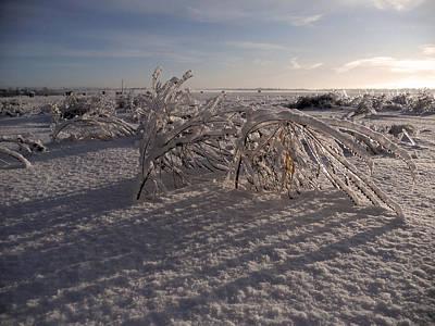 Photograph - Frozen Riviere Des Mille Iles - Qc by Juergen Weiss