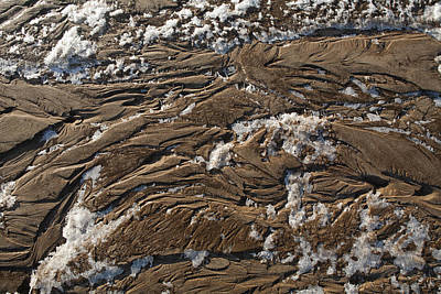 Photograph - Frozen Sand by Gregory Scott