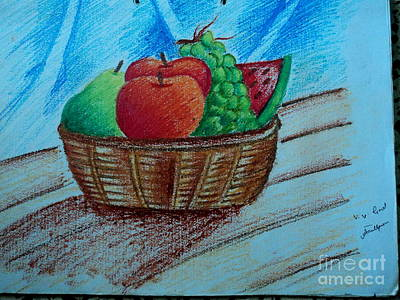 Painting - Fruit Basket by Tanmay Singh