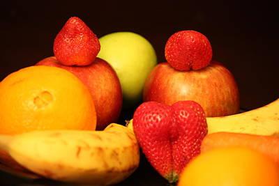 Fruit Dreams Before Daybreak Art Print by Andrea Nicosia