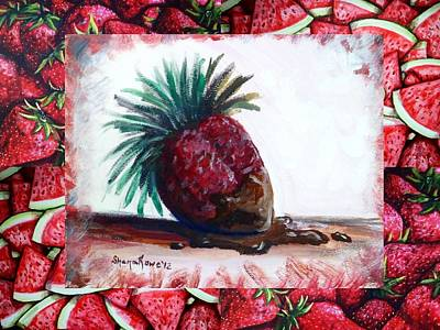 Fruit Fusion Art Print by Shana Rowe Jackson