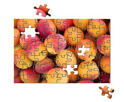 Game Piece Photograph - Fruit Jigsaw1 by Jane Rix