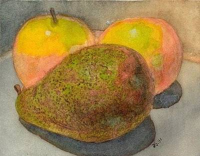 Painting - Fruit  by John Brisson