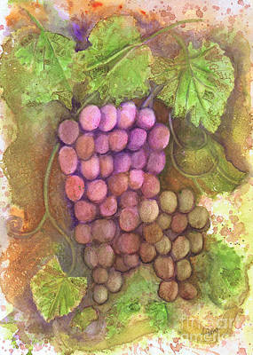 Painting - Fruit Of The Vine by Audrey Peaty