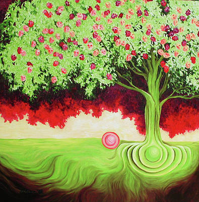 Painting - Fruit Tree by Diana Durr