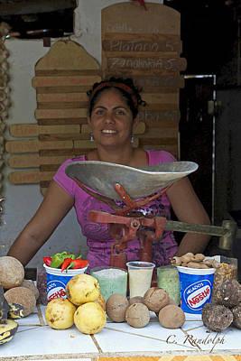 Photograph - Fruit Vendor by Cheri Randolph