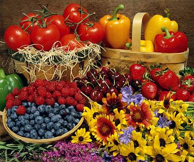 Olympic Sports - Fruits And Vegetables by David Chapman
