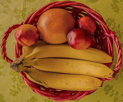 Fruits Art Print by John Nasir