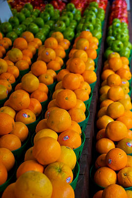 Montreal Streets Photograph - Fruits by Mike Horvath
