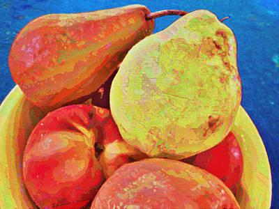Digital Art - Frutbol by Ginny Schmidt