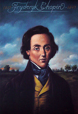 Mixed Media - Fryderyk Chopin 1810-1849 by Rafal Olbinski