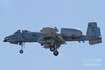 A-10a Thunderbolt Ii Photograph - Ft Af 78 0597 A 10 Thunderbolt II by Henry Plumley Jr