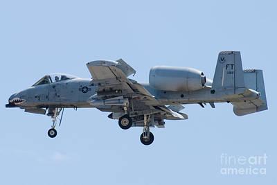 A-10a Thunderbolt Ii Photograph - Ft Af 79 0189 A 10 Thunderbolt II by Henry Plumley Jr