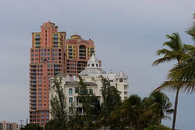 Photograph - Ft Lauderdale Beach Highrises by Ed Gleichman