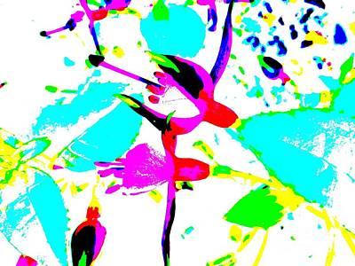 Digital Art - Fuchsia by Barbara Moignard
