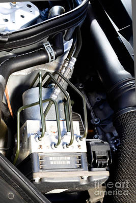Fuel Injection System Art Print by Photo Researchers