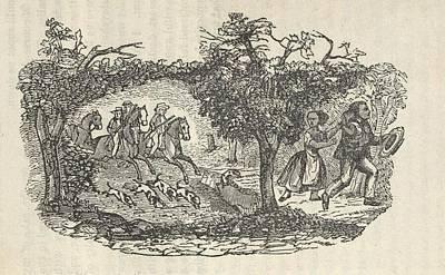 Fugitive Slave Henry Bibb�s Familys Art Print by Everett