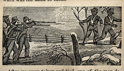 Fugitive Slave Henry Bibb Was Captured Art Print