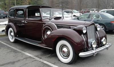 Photograph - Full Limo Packard Usa by Tim Donovan