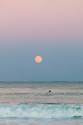 Photograph - Full Moon In Taurus October 29 2012 by Michelle Wiarda