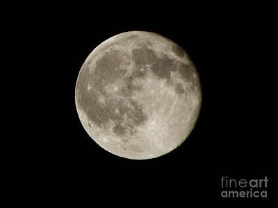 Halloween Photograph - Full Moon  by Pixel  Chimp