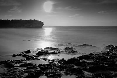 Photograph - Full Moon Rising  by Roger Mullenhour