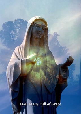 Hail Mary Photograph - Full Of Grace by Rick Rauzi