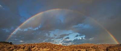 Photograph - Full Rainbow Sunrise by SB Sullivan