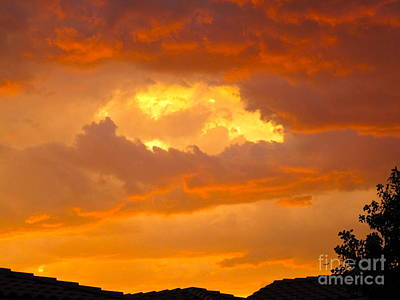 Photograph - Full Sky On Fire by Phyllis Kaltenbach