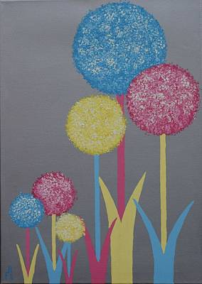 Painting - Fun Colours 5 by Frank Hamilton