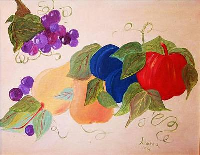 Painting - Fun Fruit by Alanna Hug-McAnnally