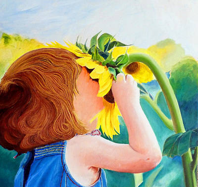 Painting - Fun Inthe Sun by JoeRay Kelley