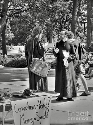 Photograph - Fundamental Issues by David Bearden